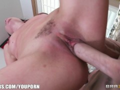 Naughty cheating wife sneaks off from a party to ride a big-dick