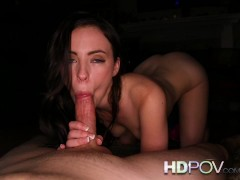 HD POV Beautiful natural young nubile wants you inside her juicy wet pussy