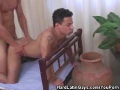 Cum Smearing Latino Hunks Like It Doggy Style
