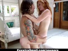 ExxxtraSmall - Redhead Alex Tanner Fucks Her Sister's Boyfriend!