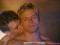 Johnny Dawes fucks Eric Stryker - KNOCKOUT (1983) - Vintage Gay Porn