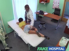FakeHospital Foreign patient with no health insurance pays the pussy price for alternative treatment