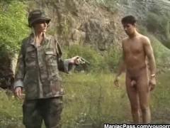 Army slut fucking mane... -