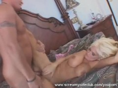 Horny Housewife Turns Into A Swinger