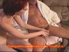 Teen fucks her dirty old step-daddy