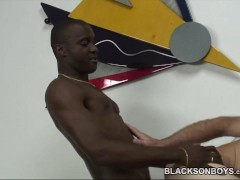 Erin Gives A Black Guy Some Ass