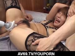 Sexy with appealing Asian milf, Sara Nakamura