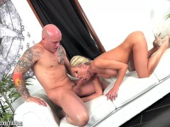 Bigtit MILF Katie Morgan sucks and rides cock at ArchAngel