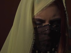 Hot arab scene with Gala Brown and syrian porn star Antonio Suleiman