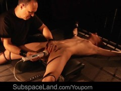 Brutal Fuck And No Mercy For Submissive Bondage Slave