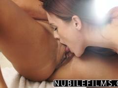 Eva Lovia lesbian shower sex and orgasm