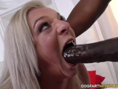 Cheerleader Tiffany Watson loves black cock