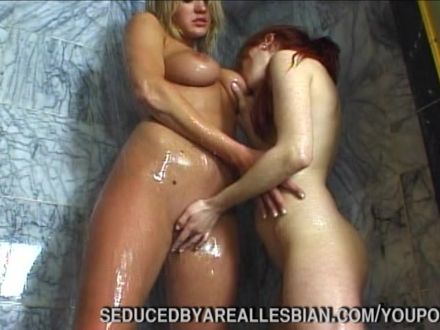 lesbian seduces straight