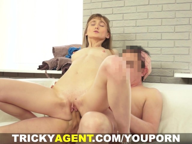 Tricky agent assfucked with her bf downstairs - 2 part 6