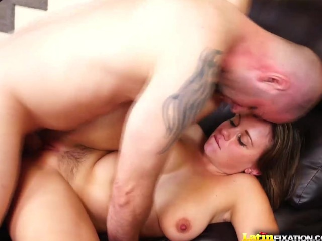 Latinfixation chrissy nova shows off her natural tits before fucking 6