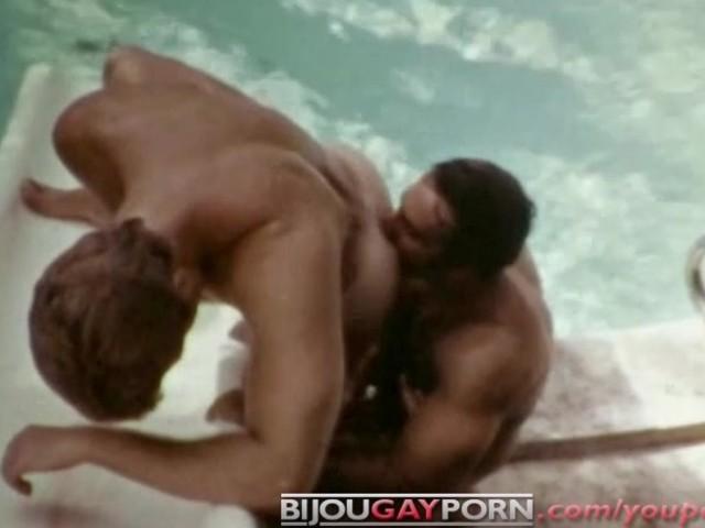 Beefy Vintage Gay Macho Icon Bruno Fucks Josh Kincaid - Classic Gay Porn