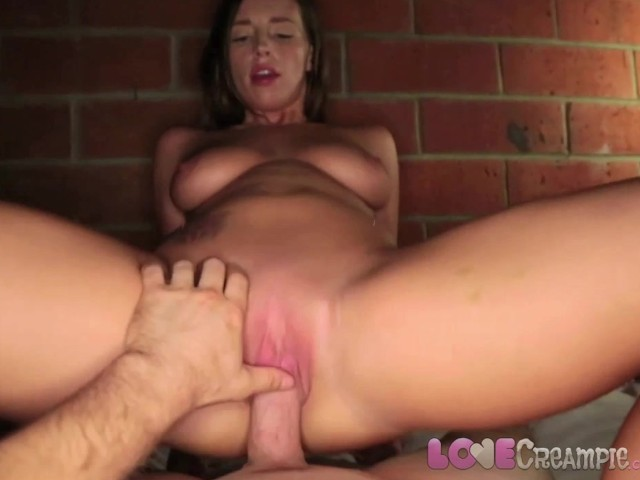 girl cums on cock