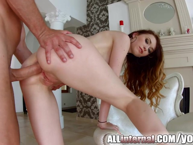 All internal misha cross gets anal creampie 3