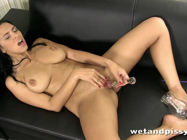 Slutty girl kira in a seethrough pantyhose 7