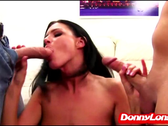 Her first long cock