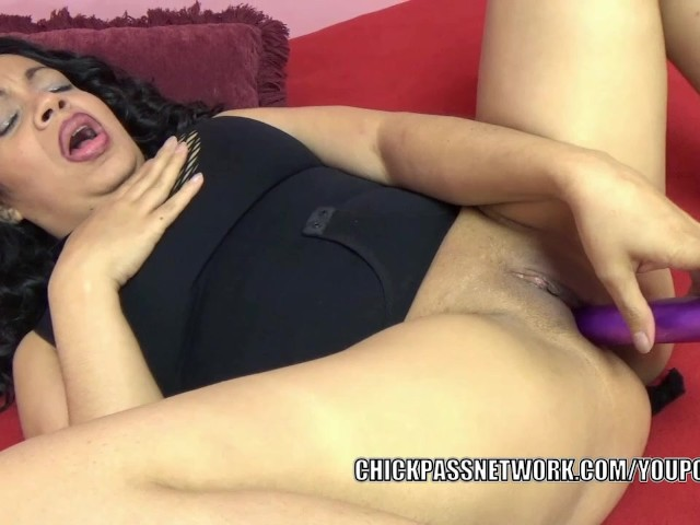 image Dolly naught is stuffing her latina twat