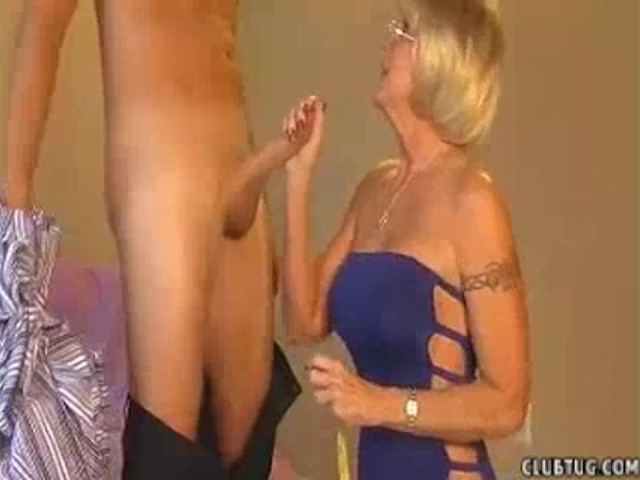 Granny Accidentally Touches Young Guy s Cock