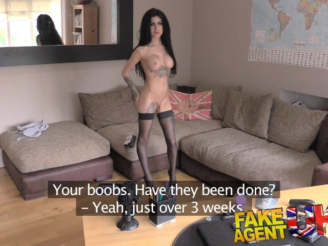 Fakeagentuk agent wedges fat cock into escorts tight pussy - 3 part 8