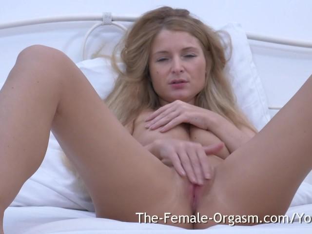 Twitching pussy orgasm