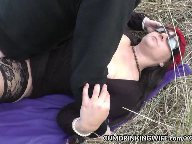 image Dogging slutwife marion gangbanged in public 2016