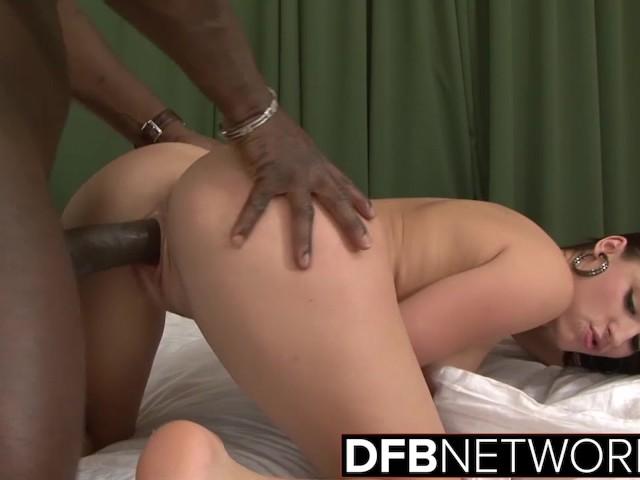 Teen Casting POV Interracial porn big black cock in amateur pussy