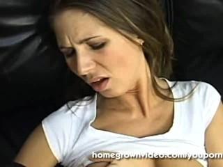 Pov brunette anal fucked