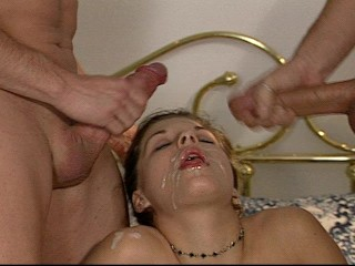 trying-to-squeeze-two-dicks-in-her-mouth