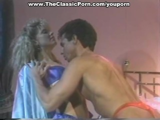 Sharon Kane And Peter North Pleasing Each Other...