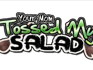 Milf tossing studs salad