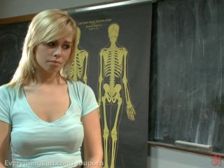 Tara is disciplined and ass fucked by professor...