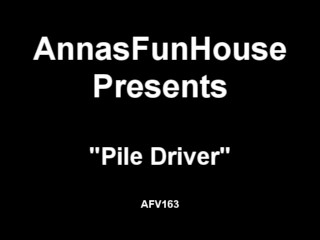 Pile Driver Anal Creampie...