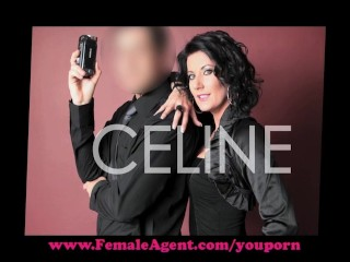 FemaleAgent. Arrogant audition....