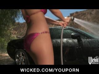 bikini-clad-latina-eva-angelina-gets-fucked-on-the-hood-of-her-car
