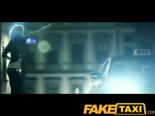 Faketaxi falls for his scam
