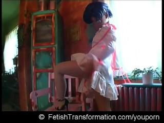 Crazy trasformation real manga puppet