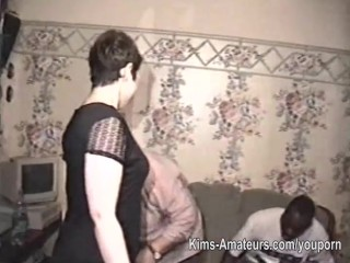 Raw homemade amateur group sex footage...