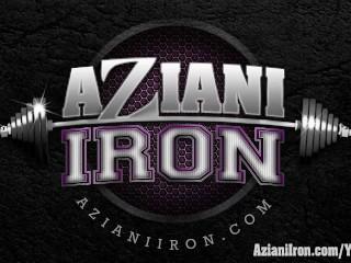 Aziani Iron Amber Deluca Female Bodybuilder In...