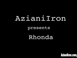 Aziani iron rhonda lee pumping
