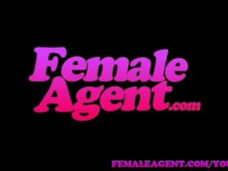 FemaleAgent Unsuspecting stud dominated into casting pegging session