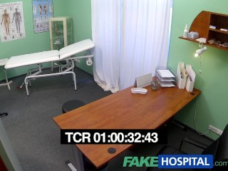 FakeHospital Spy cameras in doctors office captures teens milfs creampies