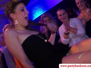 Party sluts at real orgy fucked