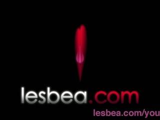 Lesbea big boobs teen has  with tight blonde...