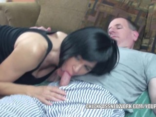 Brunette Milf Melissa Swallows Is Getting Fucked...