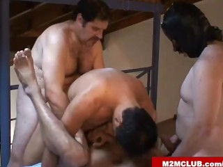 Mature gay dudes fucking...