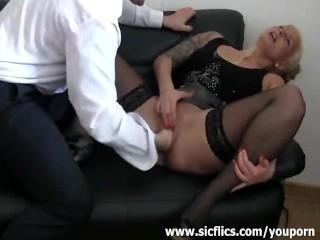 Bossy bitch  squirts...